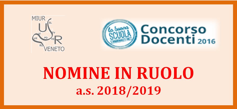 Nomine ruolo 2018/19